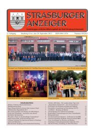 22. Jahrgang Strasburg (Um.), den 20. September ... - Schibri-Verlag