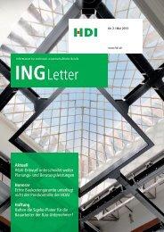 INGLetter - Fachverlag Schiele & Schön