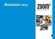 Mediadaten 2013 - Zoom