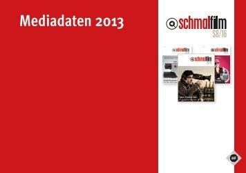 Mediadaten 2013 - Fachverlag Schiele & Schön