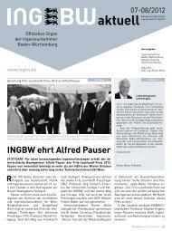 Mittel tun not INGBW - Ingenieurkammer Baden-Württemberg