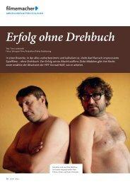 filmemacher Erfolg ohne Drehbuch - Fachverlag Schiele & Schön
