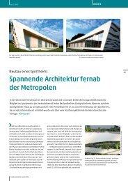 Spannende Architektur fernab der Metropolen