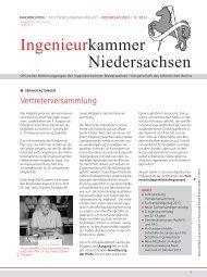 Ingenieurkammer Niedersachsen - Fachverlag Schiele & Schön