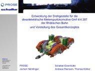 Entwicklung DG RhB Gmf 4/4