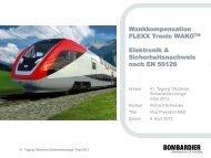 E - Schienenfahrzeugtagung Graz