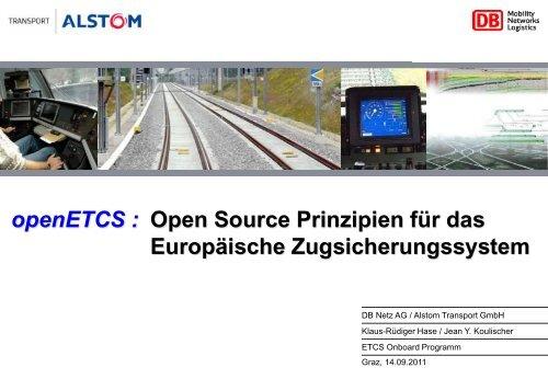 openETCS - Schienenfahrzeugtagung Graz
