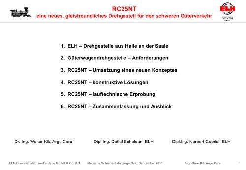 D.Scholdan, N.Gabriel, W.Kik - Schienenfahrzeugtagung Graz