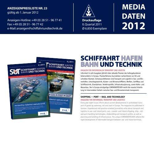 SUT_Mediadaten2012_m.. - Schiffahrt und Technik