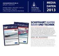 Mediadaten - Schiffahrt und Technik