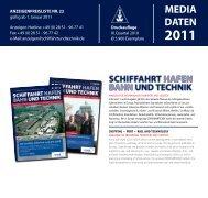 SUT_Mediadaten2011_m.. - Schiffahrt und Technik