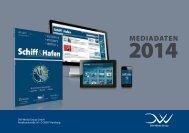 Mediadaten 2014 als pdf - Schiff & Hafen
