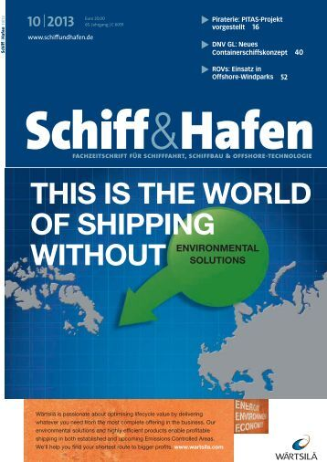 THIS IS THE WORLD OF SHIPPING WITHOUT - Schiff & Hafen