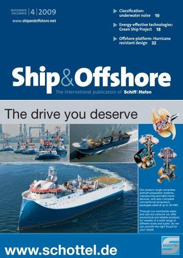 The drive you deserve - Schiff & Hafen
