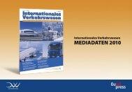 Internationales Verkehrswesen MEDIADATEN 2010 - Schiff & Hafen