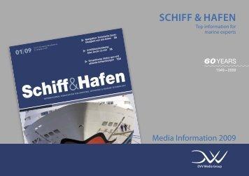 Schedule and theme plan 2009 - Schiff & Hafen