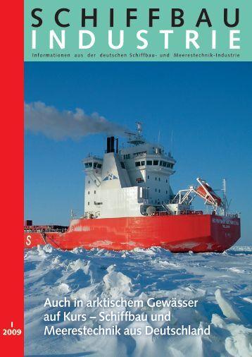 Schiffbau und Meerestechnik aus Deutschland - Schiff & Hafen