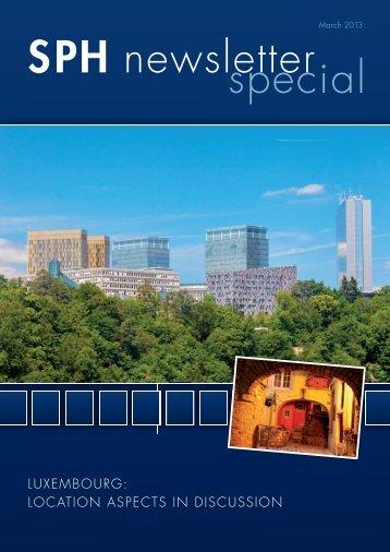 SPH newsletter special - schiller publishing house