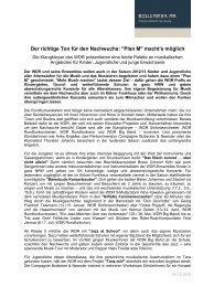 detaillierte Presseinformation zum Plan M Saison ... - Schimmer PR