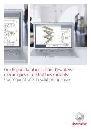 Guide pour la planification d'escaliers mécaniques et de trottoirs ...