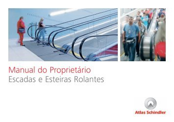 Manual do Proprietário Escadas e Esteiras Rolantes