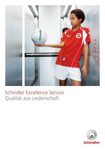 Produktbroschüre Schindler Excellence