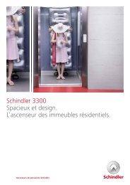 Schindler 3300 Spacieux et design. L'ascenseur ... - Schindler Group