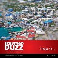 Media Kit 2013 - Cayman Buzz