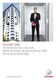 Schindler 3300 Ascenseurs de personnes pour ... - Schindler Group