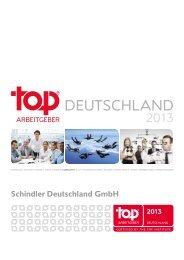 Top Arbeitgeber 2013 (2 MB) - Schindler Group