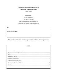1 Verbindliches Merkblatt zur Benutzung des ... - Romanischer Keller