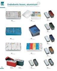 Endodontic boxes, aluminium - Cliveste