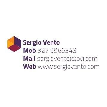 Sergio Vento Mob 327 9966343 Mail sergiovento@ovi.com Web www.sergiovento.com