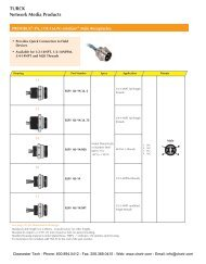 Connectors & Receptacles - Clearwater Technologies, Inc.