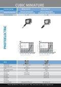 CONTRINEX Cubic Miniature Photoelectric Sensors - Page 4