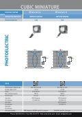 CONTRINEX Cubic Miniature Photoelectric Sensors - Page 6