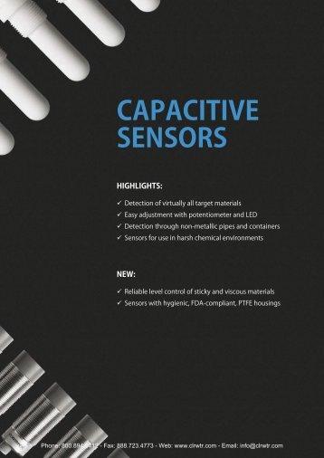 CONTRINEX Capacitive Sensors