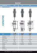 CONTRINEX Basic Capacitive Sensors - Page 4