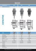 CONTRINEX Basic Capacitive Sensors - Page 6