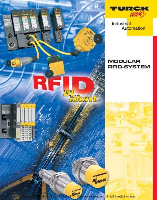 TURCK Modular RFID System Catalog - Clearwater Technologies, Inc.