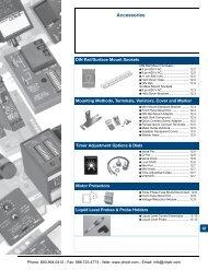 SSAC Accessories - Sockets, Terminals, Varistors, Cover, Marker ...