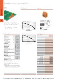 Weidmuller PCB Terminal Blocks