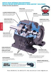LEESON R Series Helical-Inline Gear Reducers