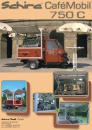 datenblatt cafe 750 c druck - Schira Mobil