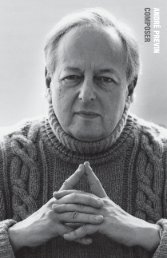 ANDRÉ PREVIN COMPOSER - G. Schirmer, Inc.
