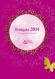 Frühjahr 2014 - Schirner Verlag