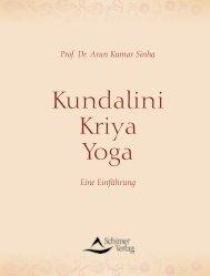 Kundalini Kriya Yoga - Schirner Verlag