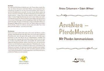 AsvaNara – PferdeMensch - Schirner Verlag