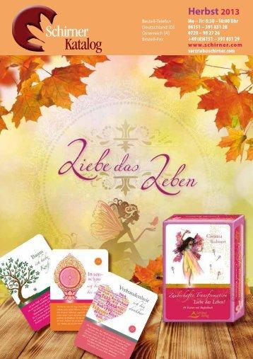Herbst 2013 - Schirner Verlag