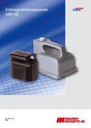 Hand-Entmagnetisierer - Maurer Magnetic AG - Prospekt